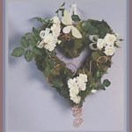 Styrofoam Heart Wreath
