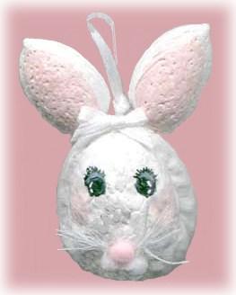 walnut easter bunny