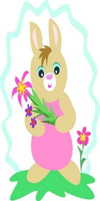 pretty girl bunny
