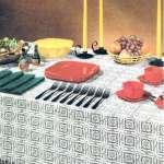 san fernando crochet tablecloth