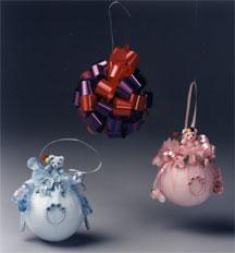 styrofoam baby ornaments