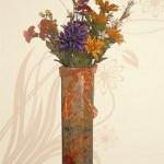 Cardboard Vase