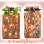 illuminated potpourri jars