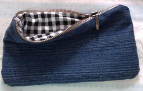 denim pencil case pattern