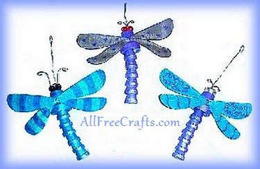 clay pot dragonflies