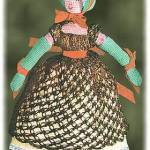 crocheted Empress Josephine doll pattern