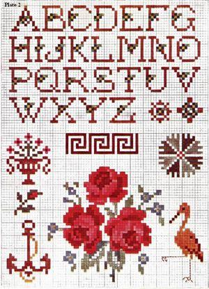 Priscilla Cross Stitch Plate 2 thumbnail