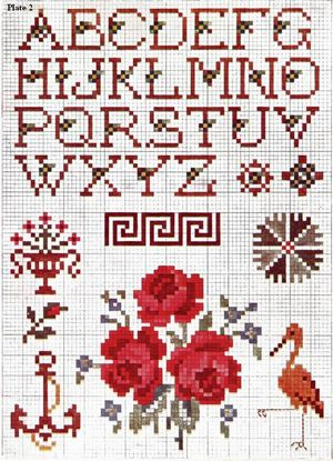 Priscilla Cross Stitch Plate 2 thumbnail