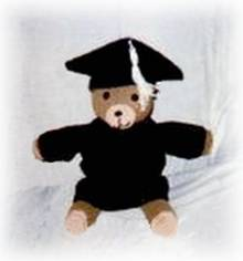 teddy bear grad