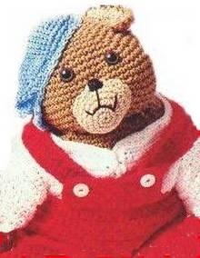 teddy bear overalls