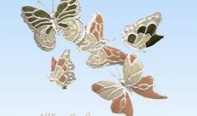recycled plastic bottle butterflies