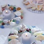 seaglass candle ring