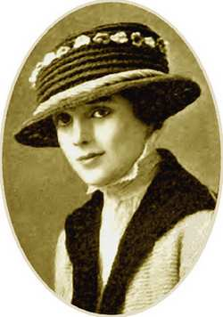 vintage crocheted hat