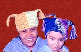 crocheted crazy hats for kids