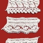vintage knitted lace edging pattern