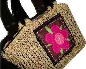 How To Make A Straw Bag Free Knitting Pattern