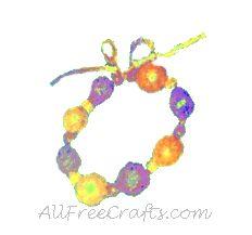 multicolored breadcrumb bead bracelet