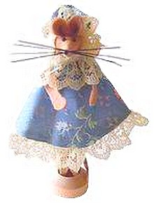 clothespeg mouse front view