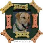 pet treat photo frame