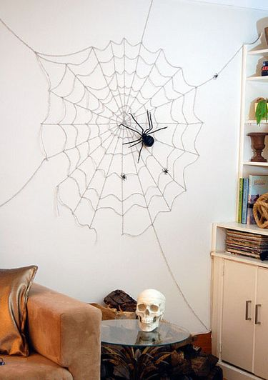 spider web wall