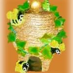 Clay Pot Beehive