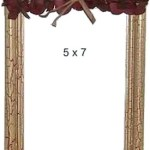 crackled finish picture frame