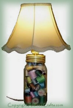 Canning Jar Lamp All Free Crafts