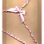 Ribbon Covered Hanger