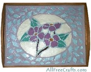 sculpey mosaic tray