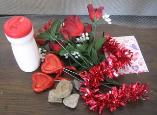 valentine bouquet supplies