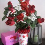 Coffee Creamer Valentine Bouquet