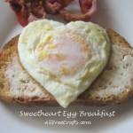 Six Heart Shape Egg Dishes