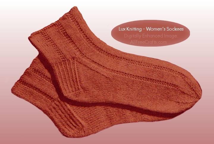 Free Knitting Pattern For Womens Socks