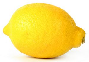 beautiful yellow lemon