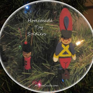 homemade toy soldiers