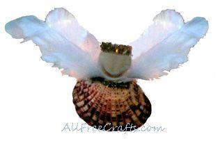 guardian seashell angel
