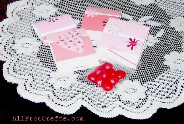 paint chip match book treat sleeves
