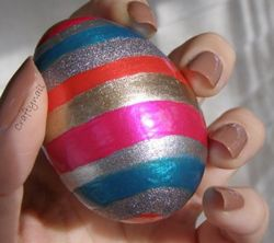 Nail Polish Painted Eggs All Free Crafts