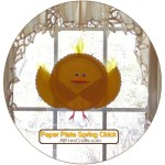 Paper Plate Spring Chick