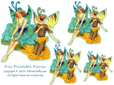 Printable Fairies Thumbnail