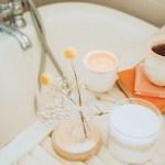 bath preparation with bath salts