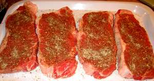 steaks with montreal steak spice