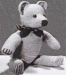 vintage weldon teddy bear
