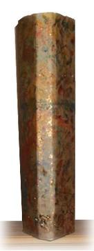 cardboard vase view
