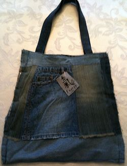 wrong side out - tote bag