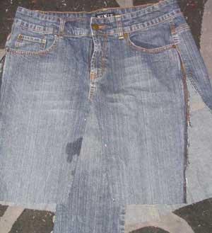denim skirt pattern 1933