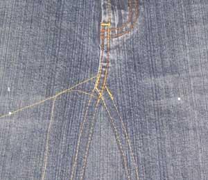 denim skirt pattern 1937