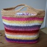 All-Purpose Striped Basket