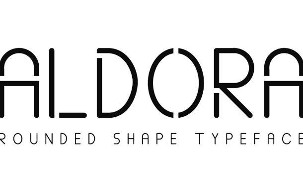 Aldora font