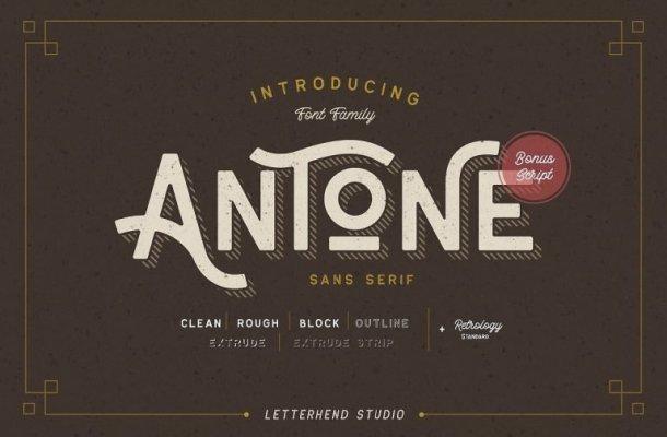 Antone Font Family